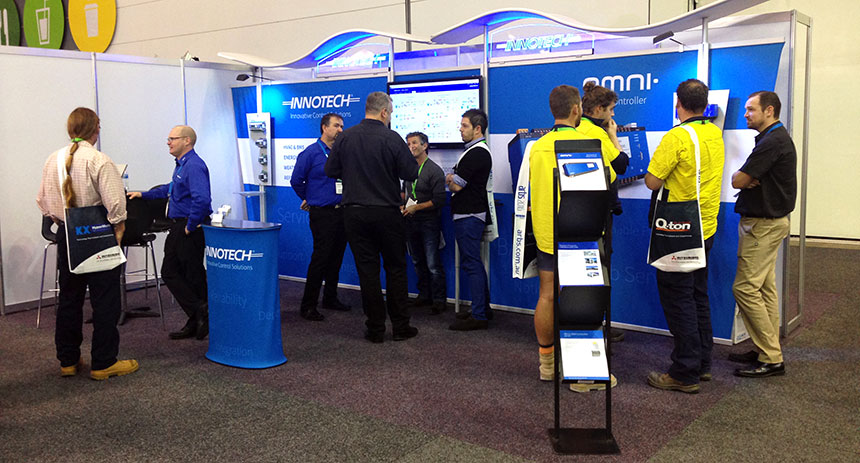 The Innotech stand at ARBS 2016