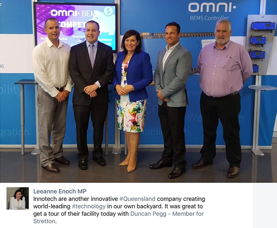 Ben McDonald, Duncan Pegg , Leeanne Enoch, Ben Miranda and Paul O'Connor