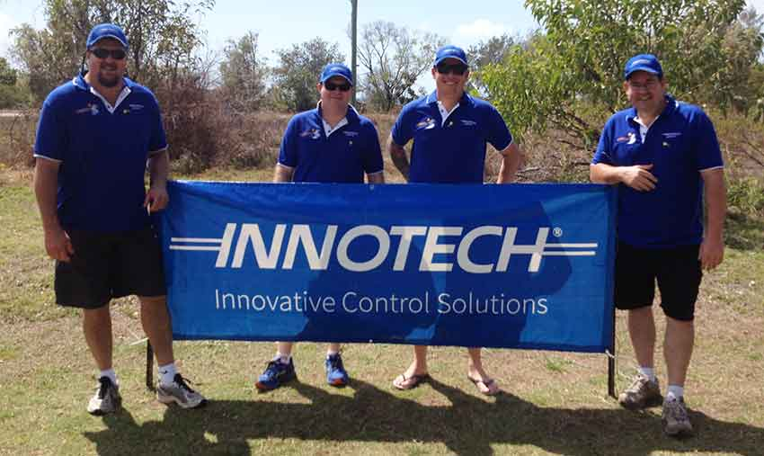 The Innotech Golf Team