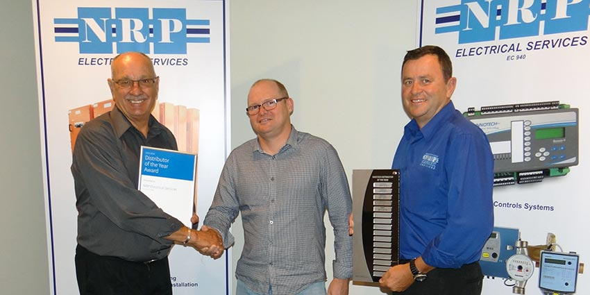 NRP Electrical. 2014 Innotech Distributor of the Year