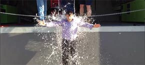 Innotech director Ben Miranda takes the Ice Bucket Challenge