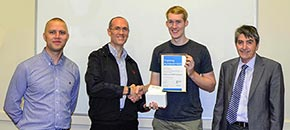 Inaugural 'Student Achievement Award' for HVAC & BMS Controls Course