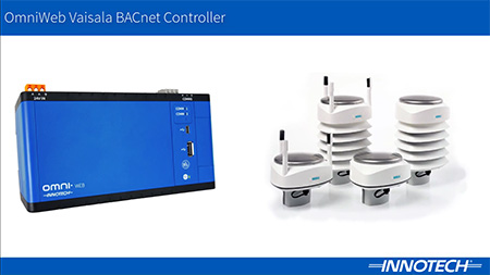 An Introduction to the OmniWeb Vaisala BACnet Controller Video